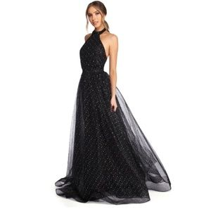 Jeanette Starry Night Ball Gown